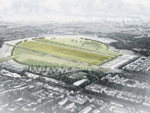 Wettbewerb Parklandschaft Tempelhof