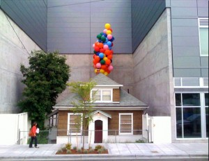 real life house from the movie up new urban designer